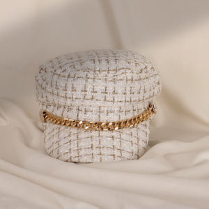 Load image into Gallery viewer, Sativa White Gold Chain Hat
