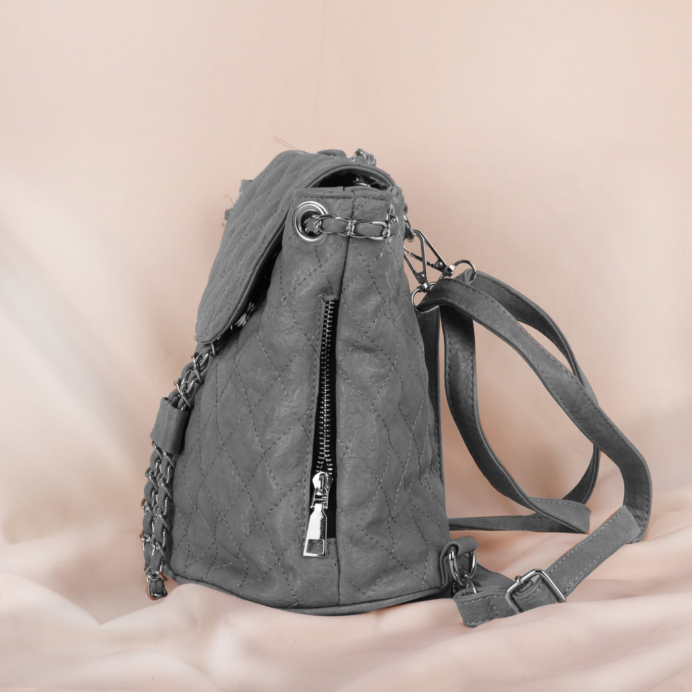 Rocky Silver Backpack Bag