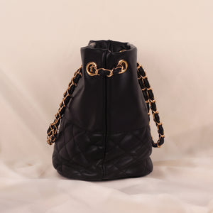 Load image into Gallery viewer, Rocky Black Chain Bag