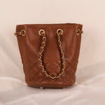 Rocky Brown Chain Bag