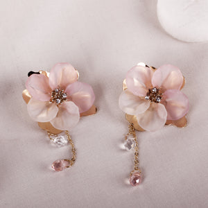 Chain Flower Earring