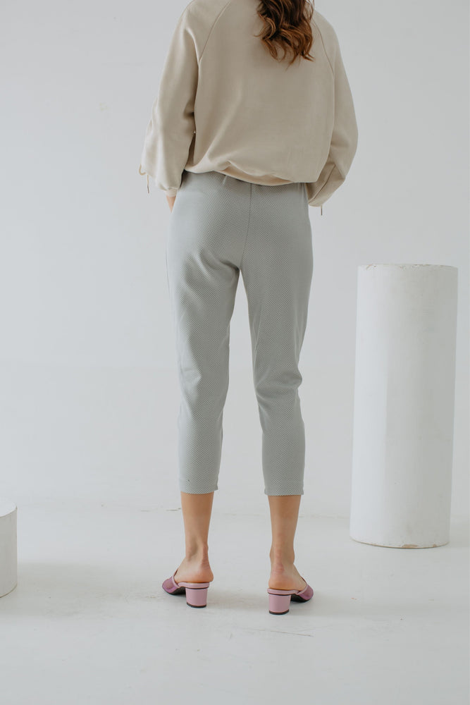Nadine Pants in Pastel Green