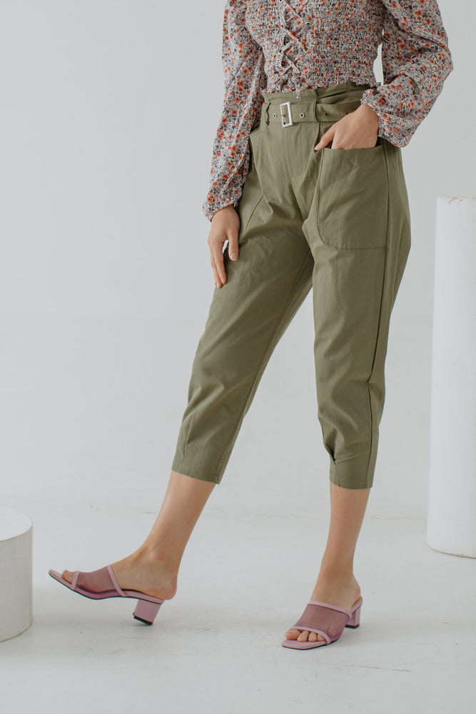 Ysabell Pants in Olive