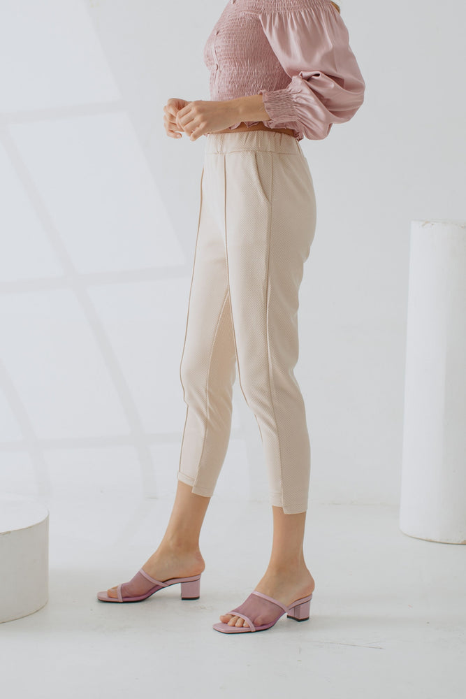 Nadine Pants in Creme