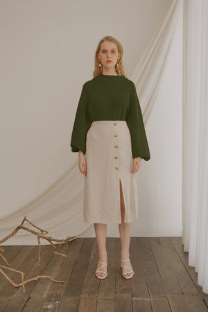 Load image into Gallery viewer, Ereyna Olive Sweater