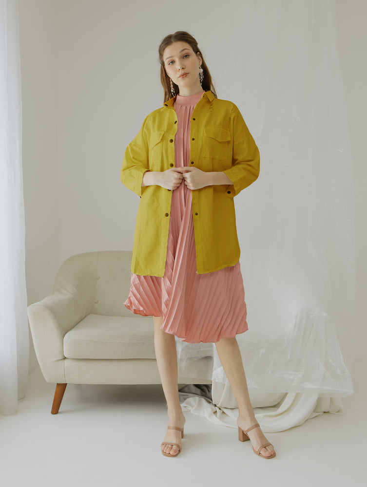Lilly Mustard Jacket