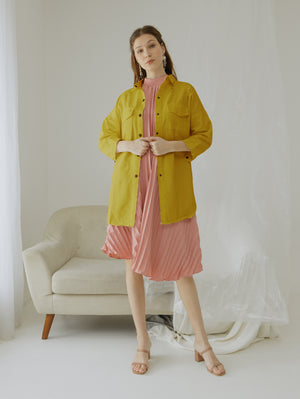 Load image into Gallery viewer, Lilly Mustard Jacket