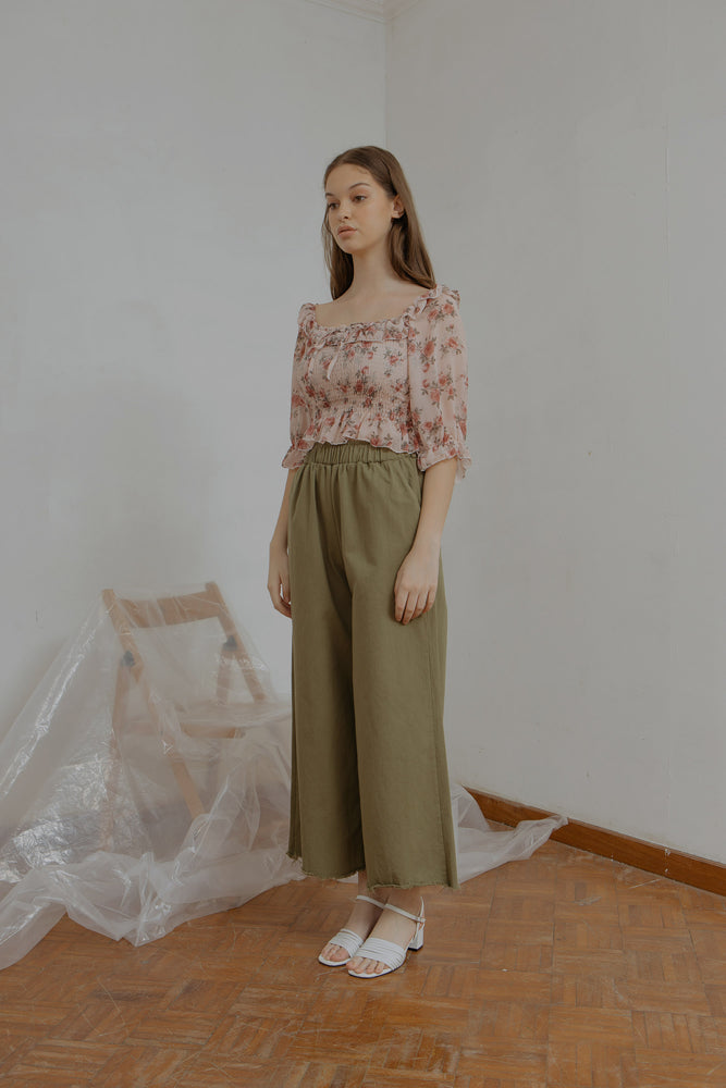 Load image into Gallery viewer, Fleury Smock Top in Pink