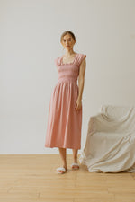 Trinette Smock Sleeveless Dress Pink
