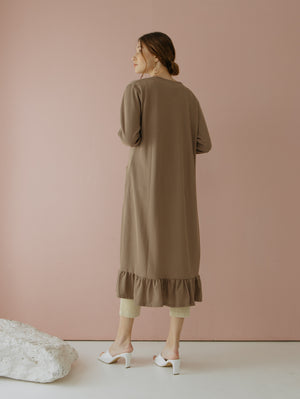 Load image into Gallery viewer, Casbia Long Cardigan Brown