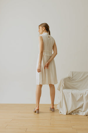 Load image into Gallery viewer, Giselle Dress White