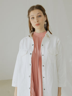 Load image into Gallery viewer, Lilly White Jacket