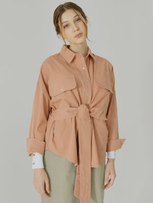 Lavy Ribbon Shirt