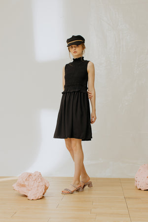 Load image into Gallery viewer, Giselle Dress Black