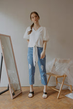 Judith Ripped Jeans
