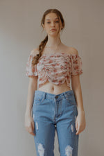 Jenska Crop Top in Pink