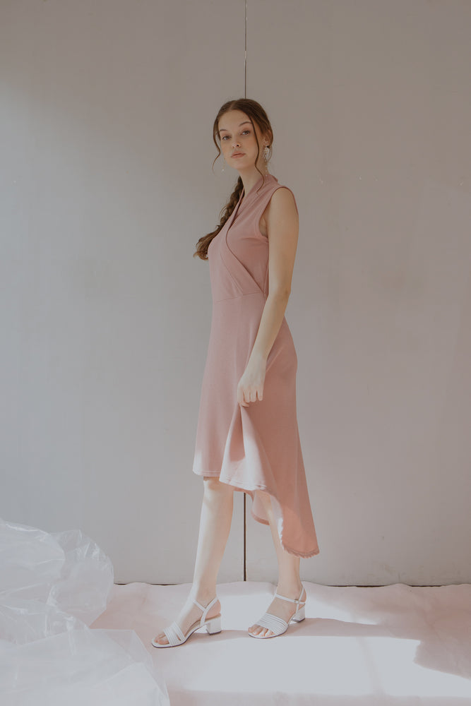 Load image into Gallery viewer, Milzie Pink Dress