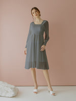 Jehane Grey Smock Dress
