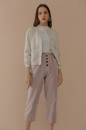 Load image into Gallery viewer, Pink Button Pants