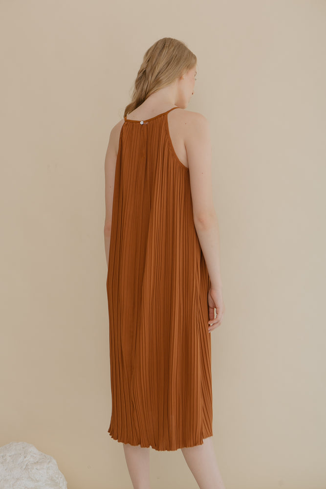 Amicale Brown Dress