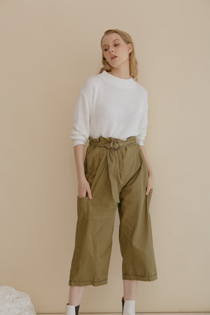 Load image into Gallery viewer, Adirane Olive Pants