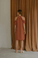 Firrina Stripe Brick Dress