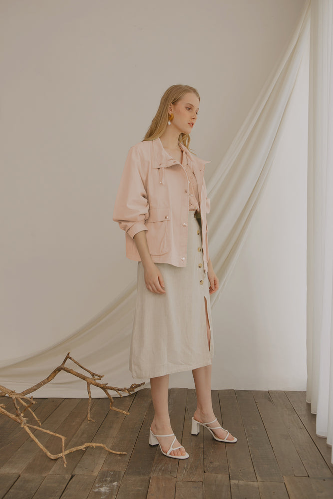 Load image into Gallery viewer, Marsale Pink Jacket