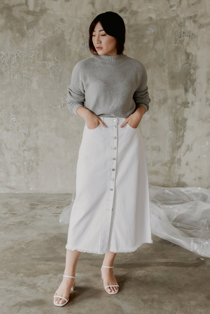 Schierke White Skirt