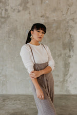 Eld Gin Grey Overall Jumpsuit