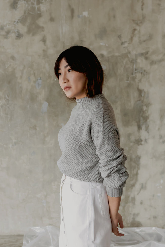 Connie Grey Sweater