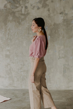 Isabel Levina Brown Pants