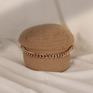 Olga Gold Chain Hat