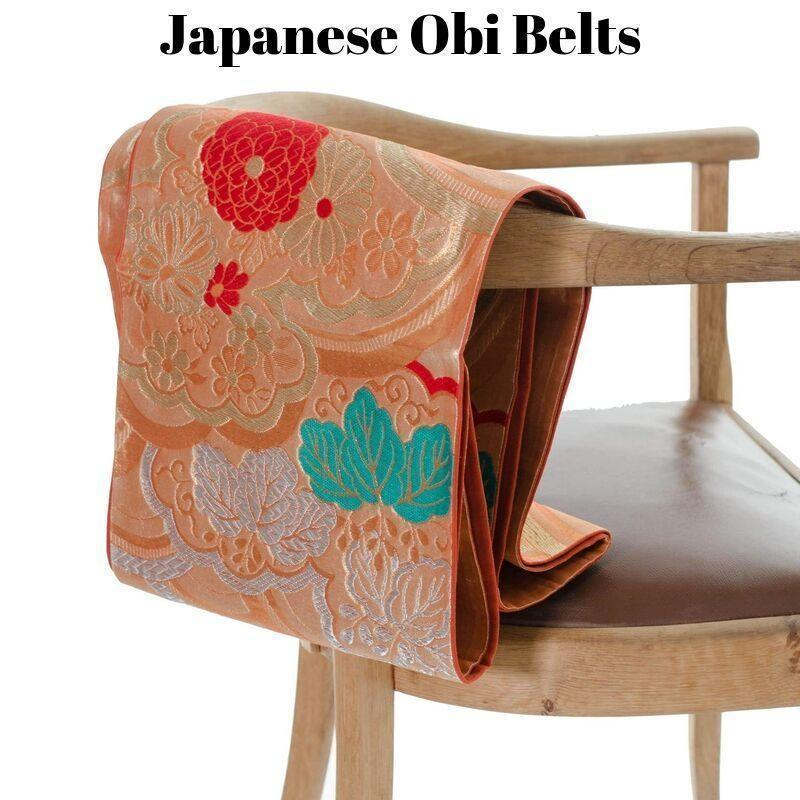 Japanese Obi Belt - The Secret Fortune You Didn't Know You Had