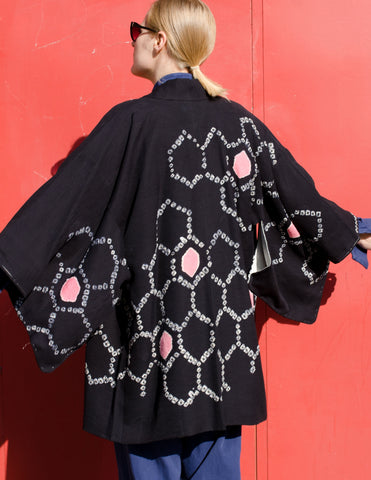 Black Silk Haori