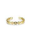Irregular Gold Plated Hoop Earrings