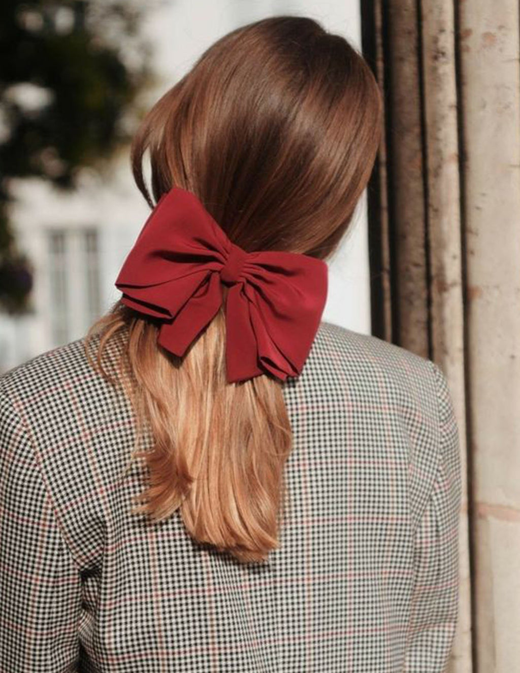 Large Satin Bow Barrette | Shop Hair Accessories Online