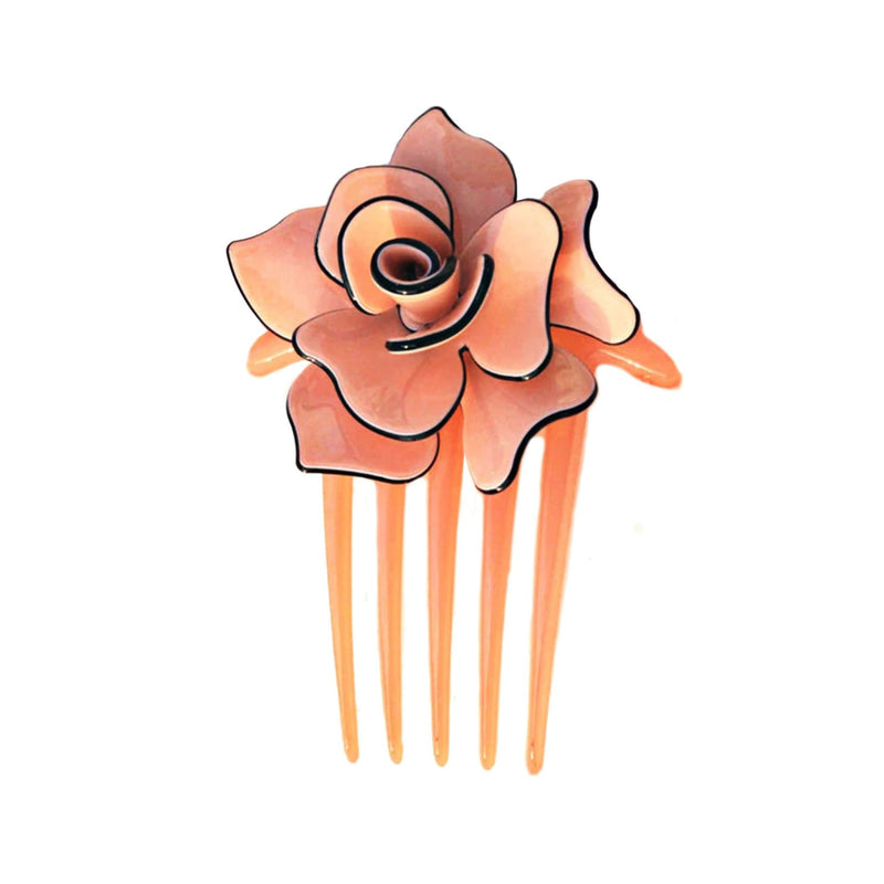 Acetate Hair Pin - Pink