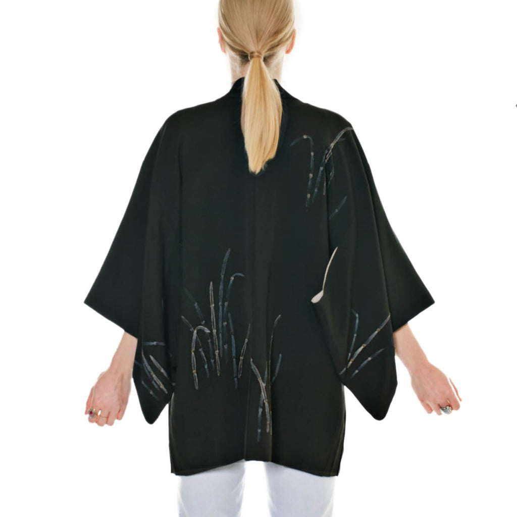 Black Haori Jacket