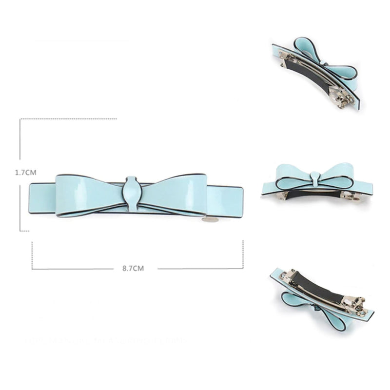 French Barrette - Blue