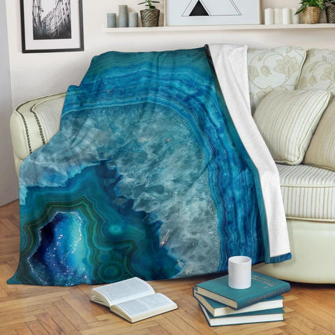 Geode Blanket Throw