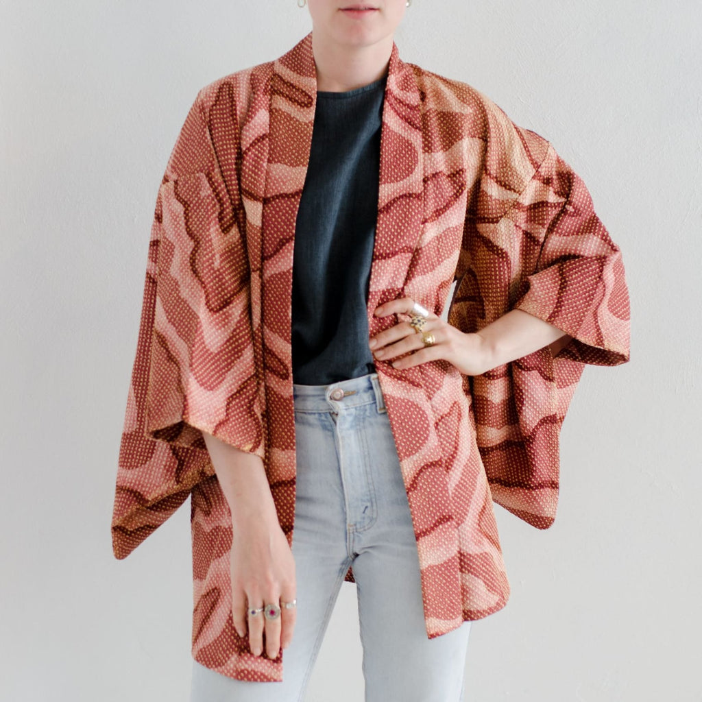 Haori Jacket Silk