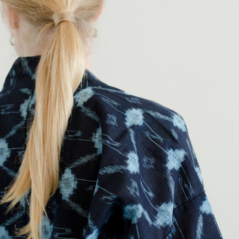 Japanese Workwear - Kimono - Cotton Dyed with Natural Indigo
