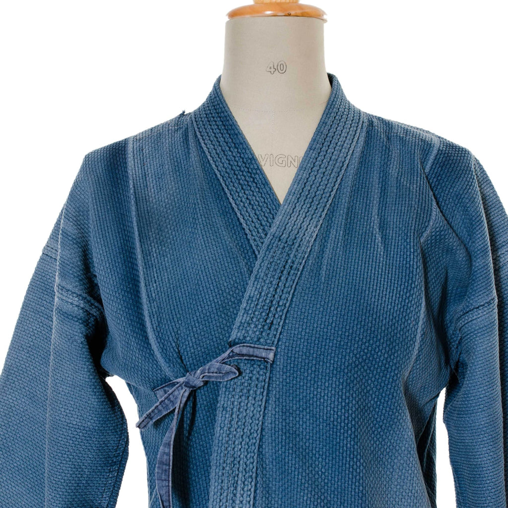 Kendo Jacket | Cotton Workwear Dyed With Natural Indigo