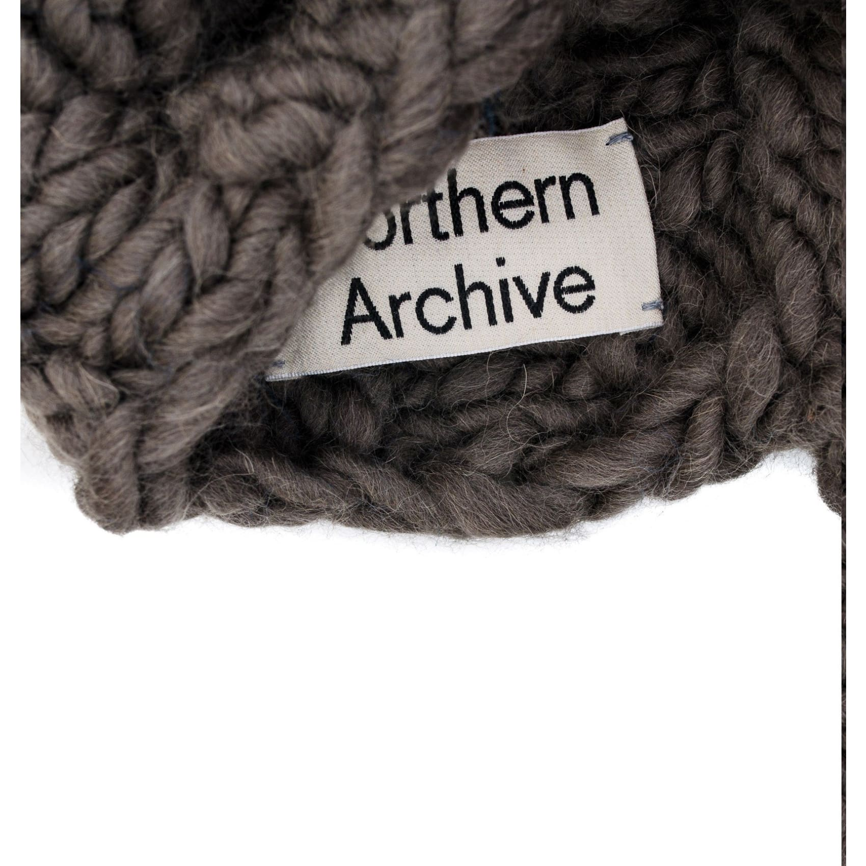 Northern Archive Hand Knitted Alpaca Wool Tube Scarf