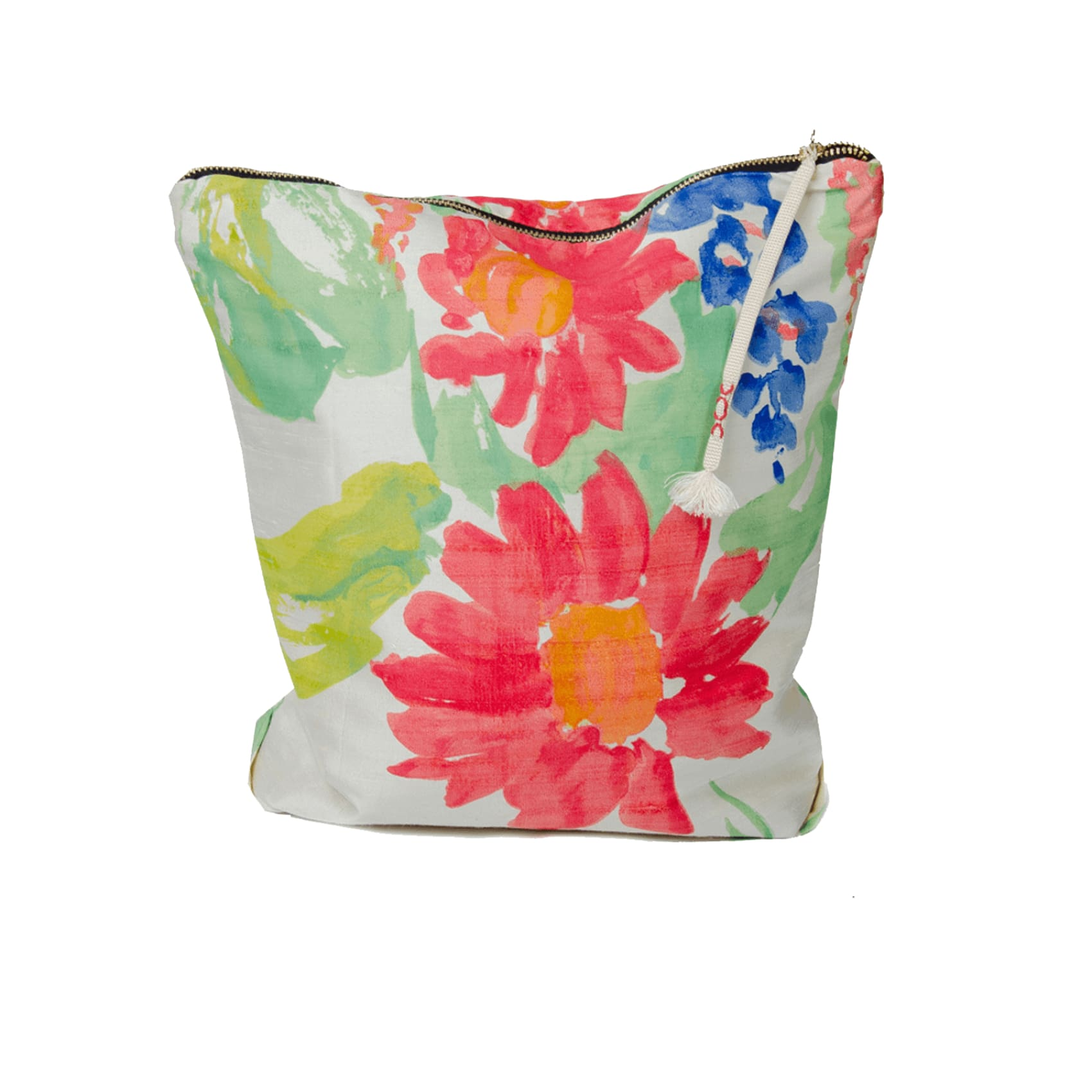 Northern Archive Hand Painted 30cm Silk Clutch