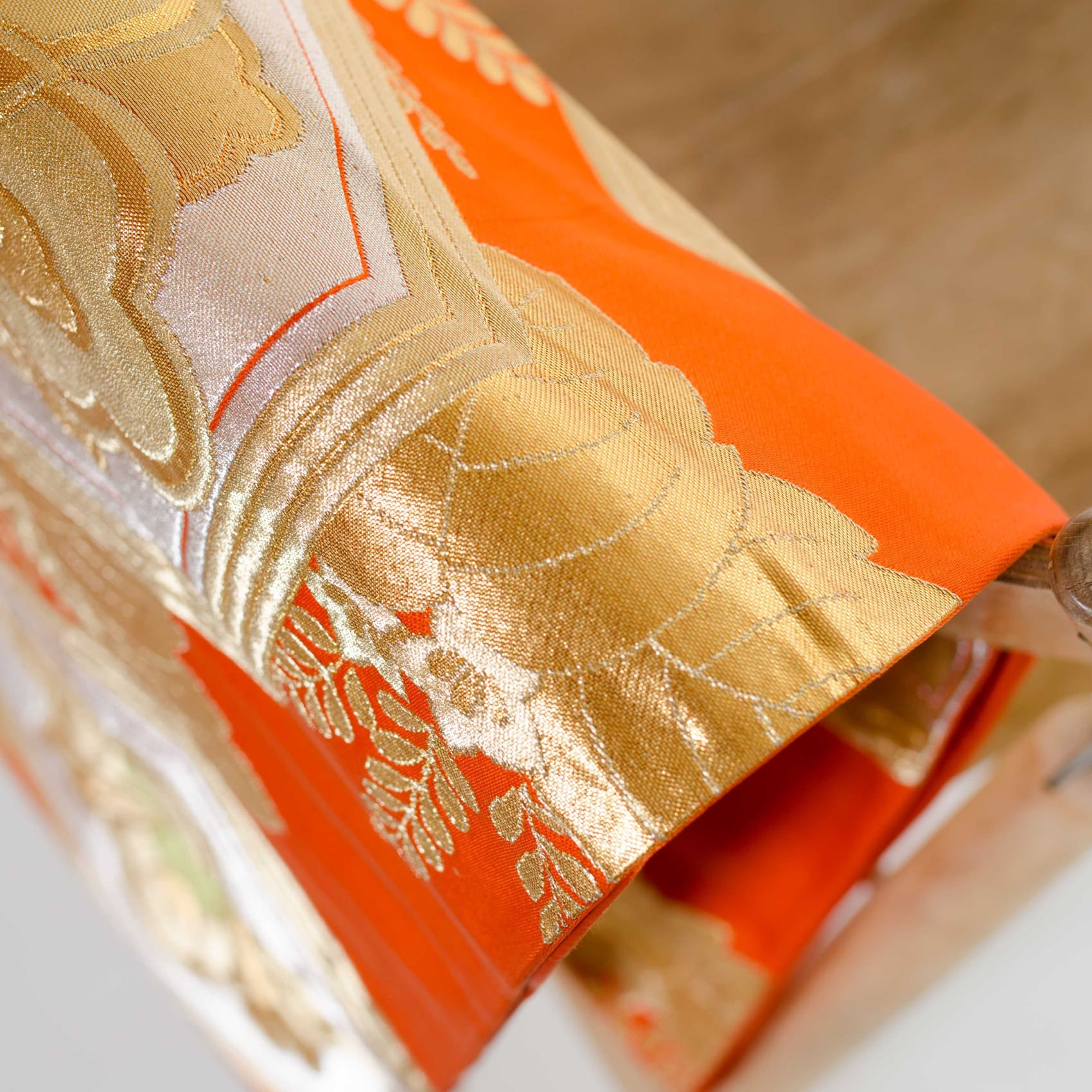 Orange Silk Obi | Obi Belt