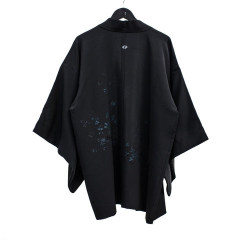Silk Haori Jacket | Embroidered Japanese Kimono