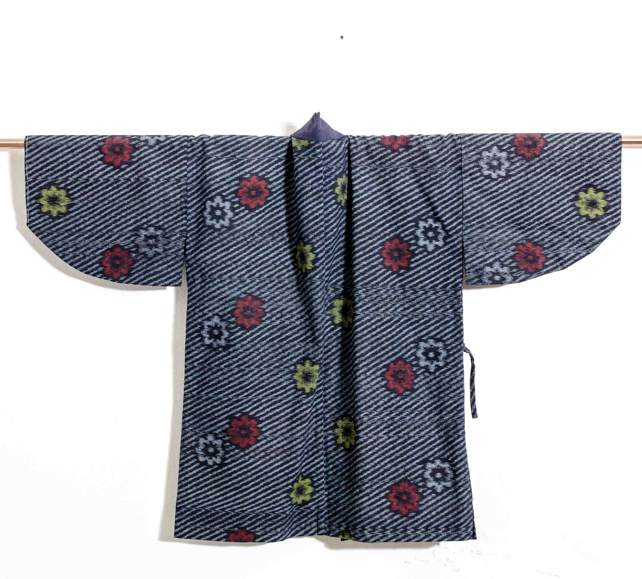 Covetable Boro Aizome Indigo Haori Jacket