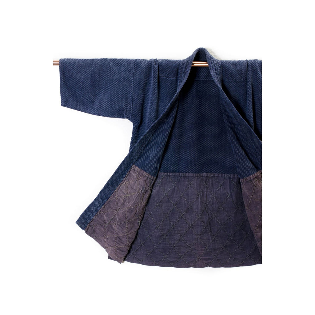 Vintage Kendo Jacket Dyed With Natural Indigo