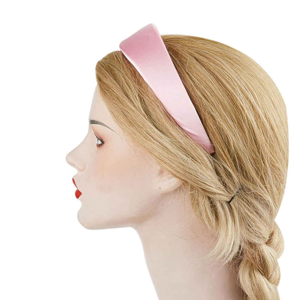 Wide Satin Headband